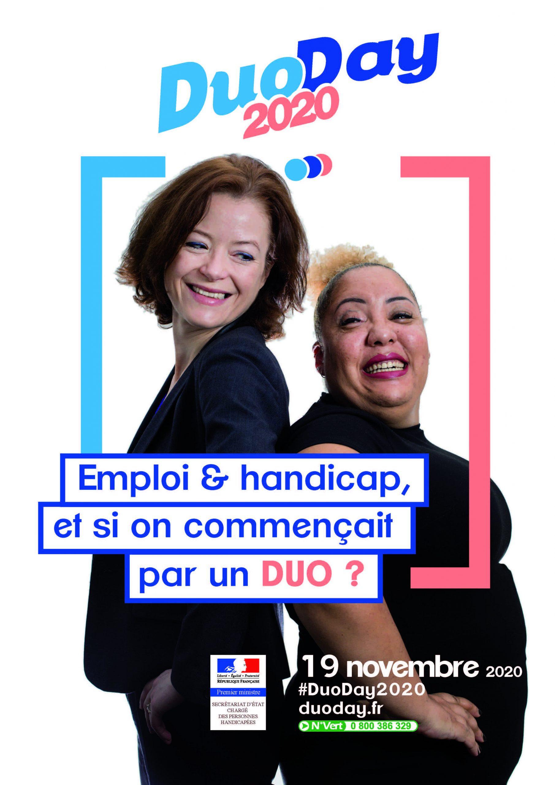 Affiche A3 DuoDay 2020